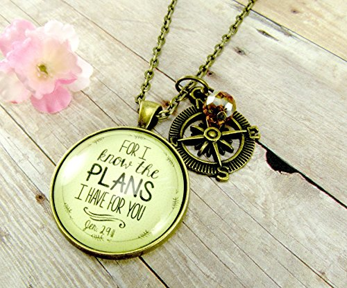 for i know the plans i have for you graduation necklace